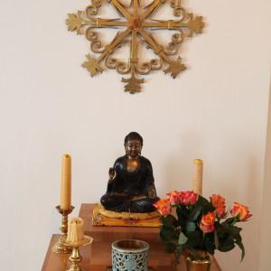 Altar im Zendo