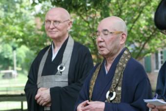 Besuch Sekkei Harada Roshi (2006)